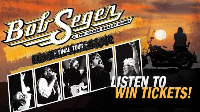 Win Bob Seger Tickets and a Seger Prize Pack!