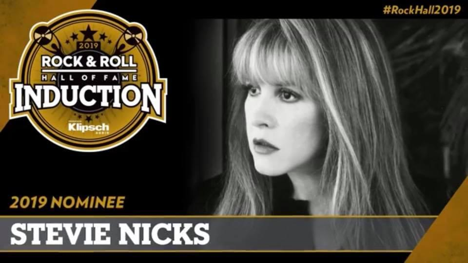 Induct Stevie Nicks into the 2019 Rock and Roll Hall of Fame