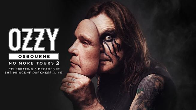 JUL 6 • Ozzy Osbourne – RESCHEDULED