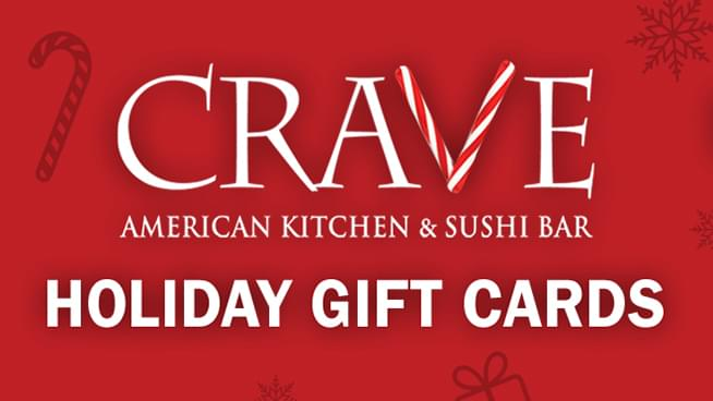 Win a $100 Crave Gift Card!