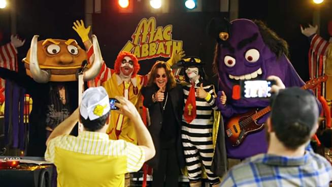 Ozzy Meets Fast Food Themed Black Sabbath Parody Band