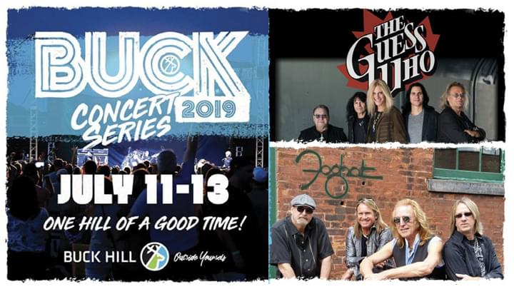 JUL 13 • The Guess Who & Foghat (Buck Concert Series)