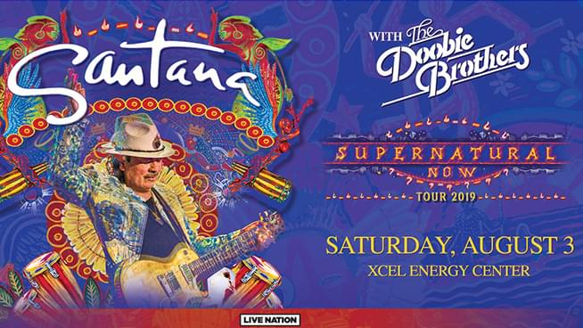 Win Santana & Doobie Brothers Tickets!