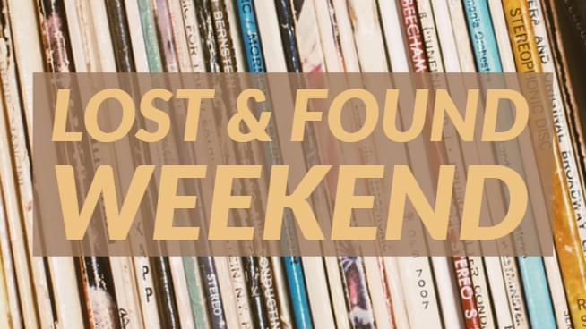 See all the songs from our Lost & Found Weekend!