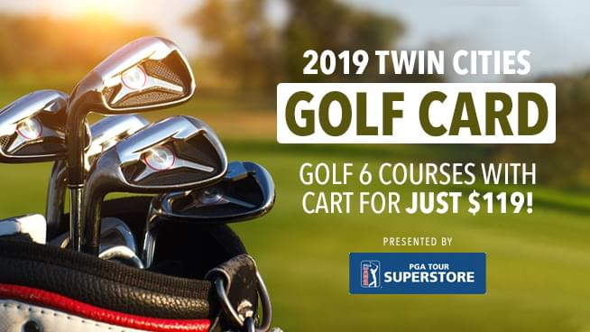 2019 Twin Cities Golf Card – Presented by PGA Tour Superstore
