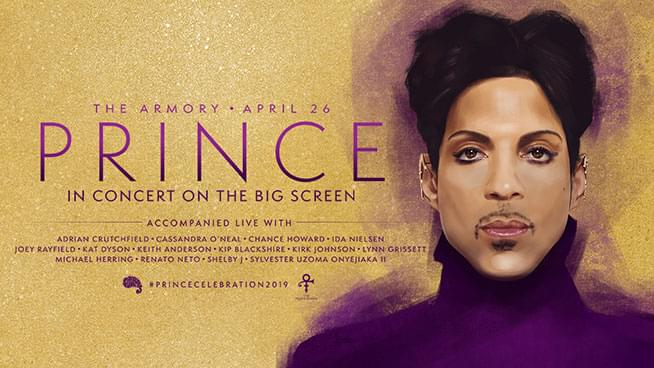 APR 26 • Prince: In Concert on the Big Screen