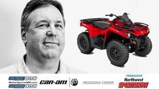 Win a Can-Am Outlander 450 ATV!