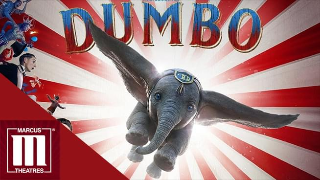 MAR 29 • KQ at the Opening Film Showing of Dumbo