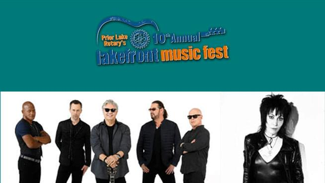 JUL 12 • Lakefront Music Fest: Steve Miller Band and Joan Jett & the Blackhearts