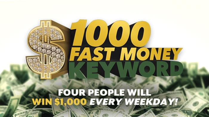 Win Money Every Weekday!