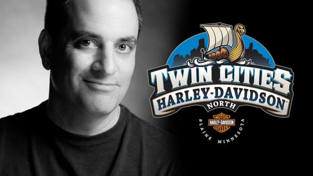 APR 27 • Live Broadcast with Ray Erick at Twin Cities Harley-Davidson Blaine