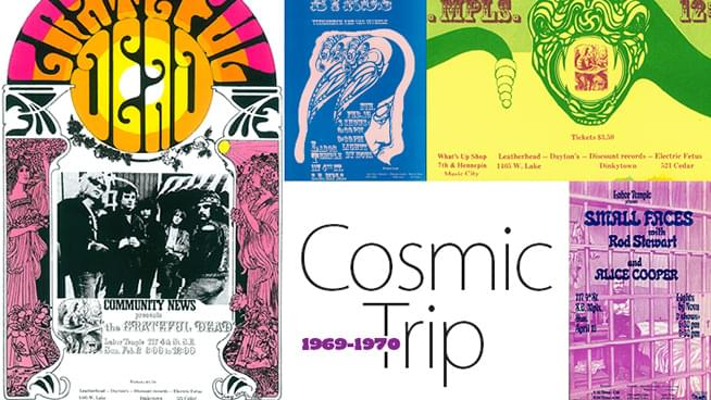 MAY 4 – JUN 28 • Cosmic Trip: Psychedelic Posters by Juryj Ostroushko