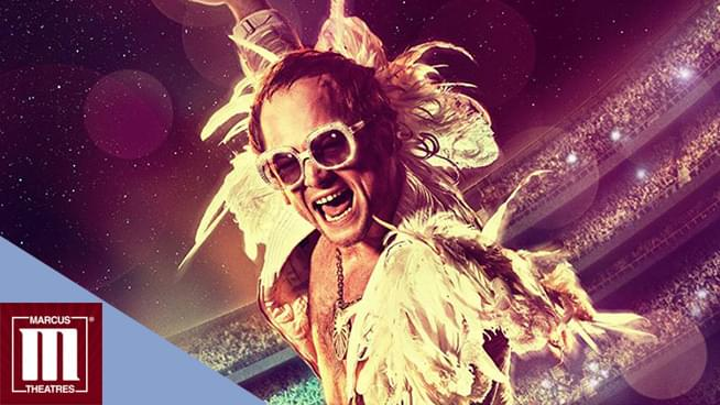 Win Marcus Theatres Rocketman Passes!