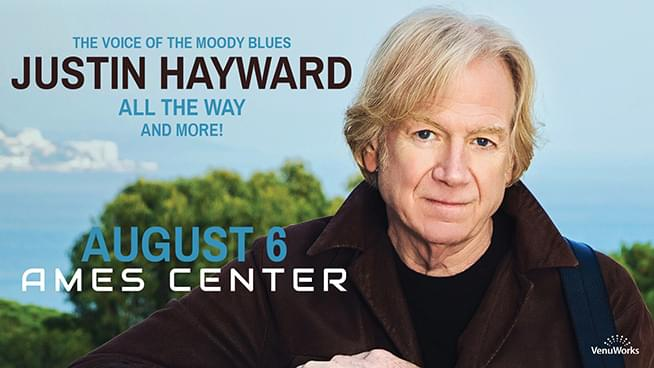 AUG 6 • Justin Hayward: All The Way – In Concert