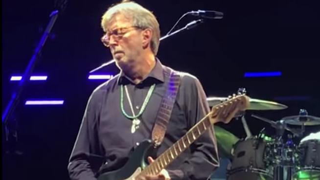Clapton Performs Purple Rain at Royal Albert Hall
