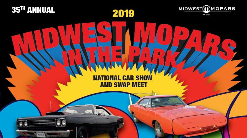 MAY 31 – JUN 2 • Midwest Mopars in the Park National Car Show and Swap Meet