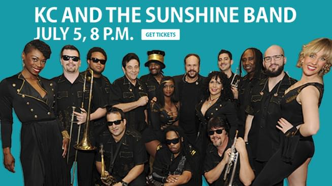 JUL 5 • KC and the Sunshine Band