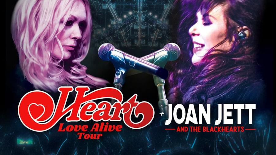 OCT 13 • Heart: Love Alive Tour