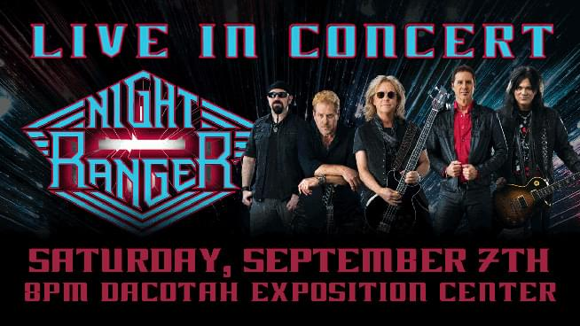 Win a Night Ranger & Hotel Stay Package from Jackpot Junction!