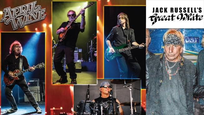 OCT 19 • April Wine and Jack Russell's Great White