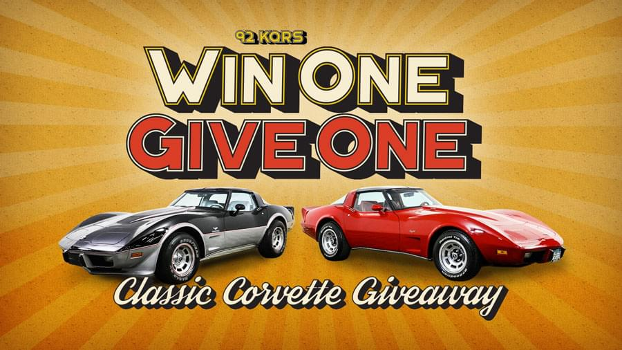 Win One Give One: Classic Corvette Giveaway