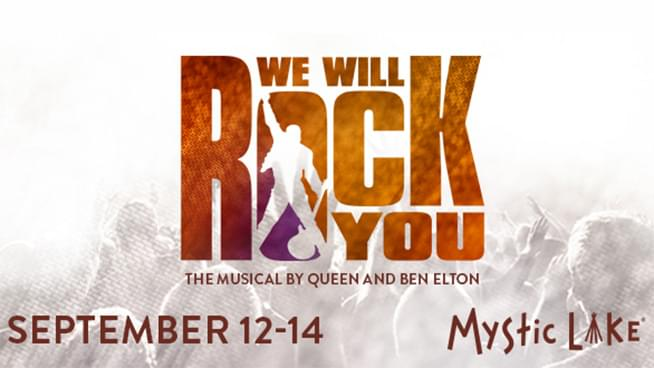 SEP 12-14 • We Will Rock You: The Musical