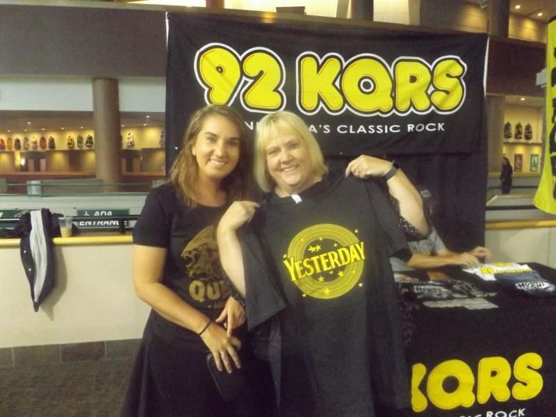 KQRS at the Xcel for a Queen Concert Pre-Party