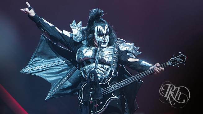 Gene Simmons Celebrates 70th Birthday On Stage