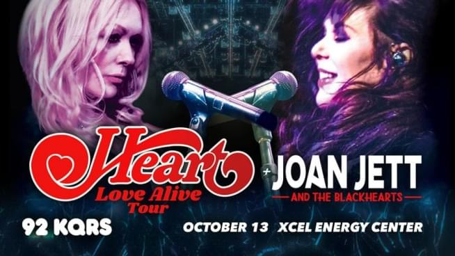Win a Pair of Tickets to See Heart!