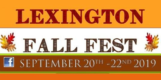 SEP 20-22 • Lexington Fall Fun Fest