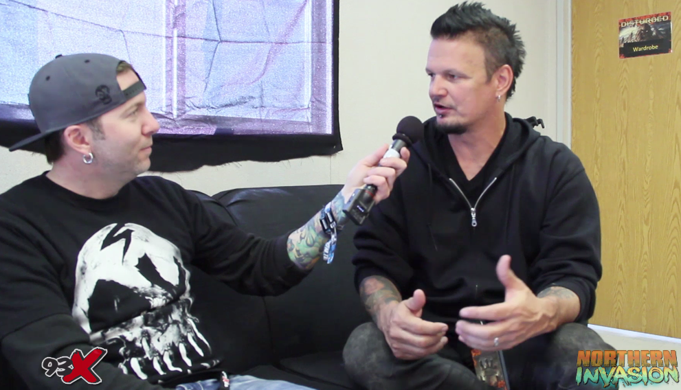 VIDEO: Interview with Disturbed