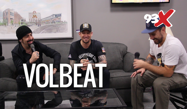 Woody Interviews Michael and Rob of Volbeat