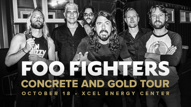 OCT 18 • Foo Fighters