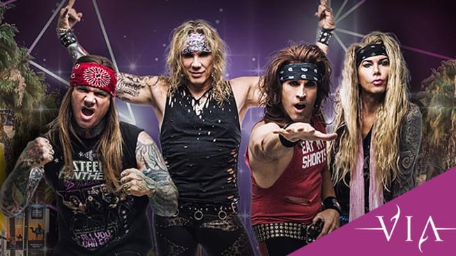 JUL 19 • Steel Panther with special guests VIA