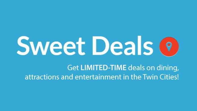 Get limited-time deals on dining, attractions and entertainment in the Twin Cities! Shop Deals