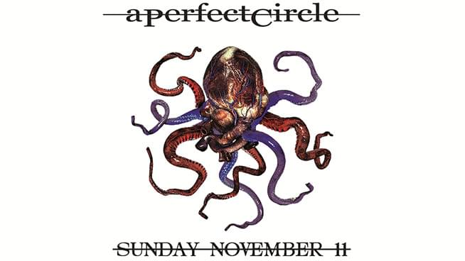 NOV 11 • 93X Butterball starring A Perfect Circle