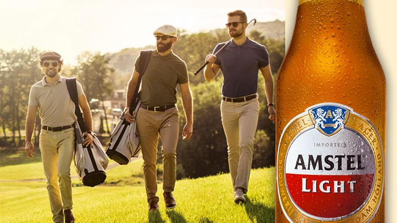 Enter to Win a Round of Golf for 4 from Amstel Light!