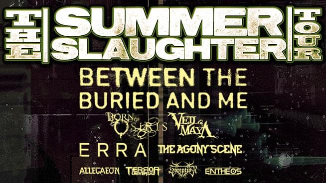 Win Summer Slaughter Tour Tickets!