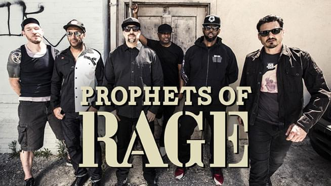 "Prophets of Rage Complete Second Album, Release ""Heart Afire"" Single"