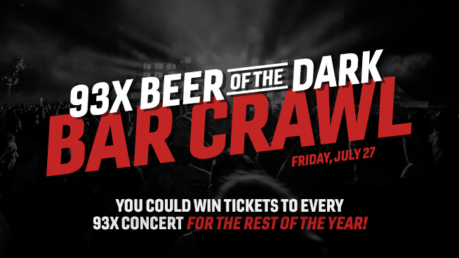 You Could Win Tickets to Every 93X Concert for the Rest of the Year!