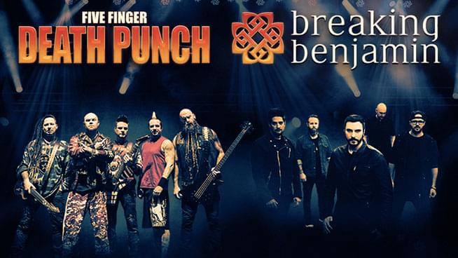 NOV 20 • Five Finger Death Punch & Breaking Benjamin Pre-Party