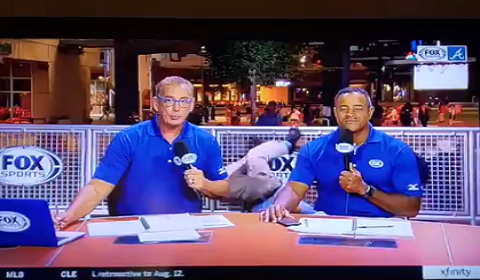 Security Guard Faceplants On Live TV