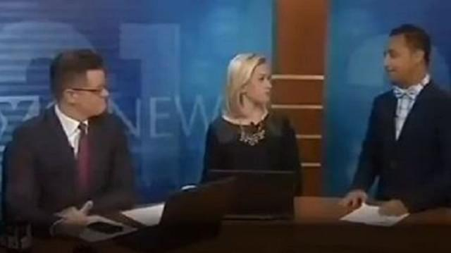 Duluth News Anchors Get Dirty
