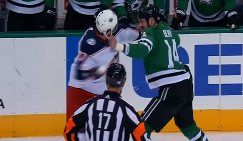 Jamie Benn & Josh Anderson Heavyweight NHL Fight
