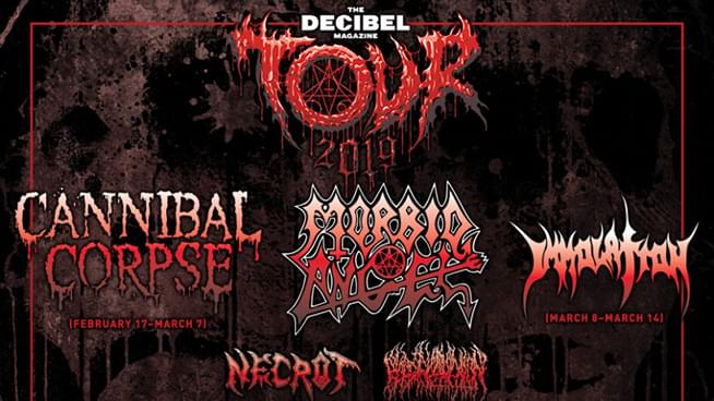 Win Cannibal Corpse & Morbid Angel Tickets!