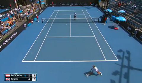 Tennis Shot Of The Year