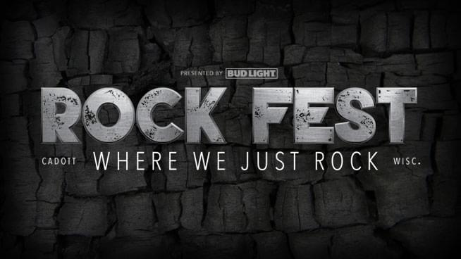Hang with 93X at Rock Fest THIS WEEKEND!