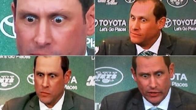Adam Gase's Crazy Eyes