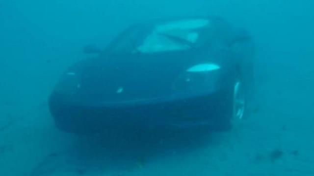 Man Drives Ferrari Into Ocean: Because Jesus Said To