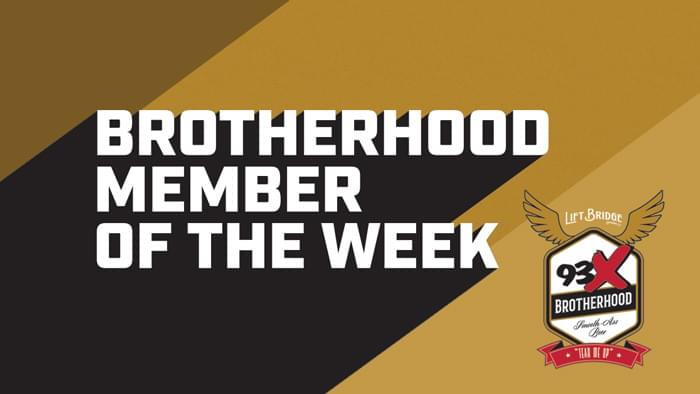 Brotherhood Member of the Week!